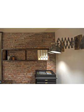 meuble étagère bois métal MODABO