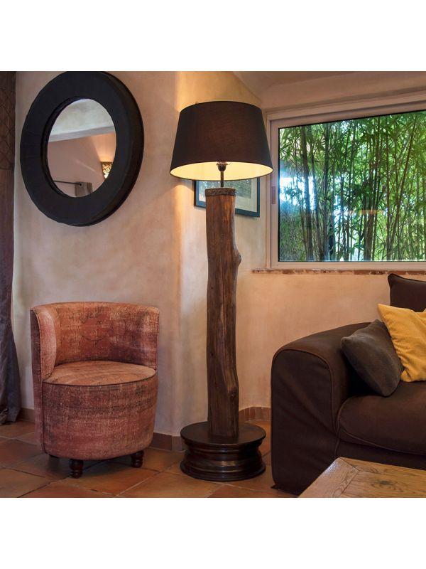 lampe métal et bois MODABO