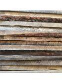 Kit relooking porte d'intérieure baguettes bois ancien